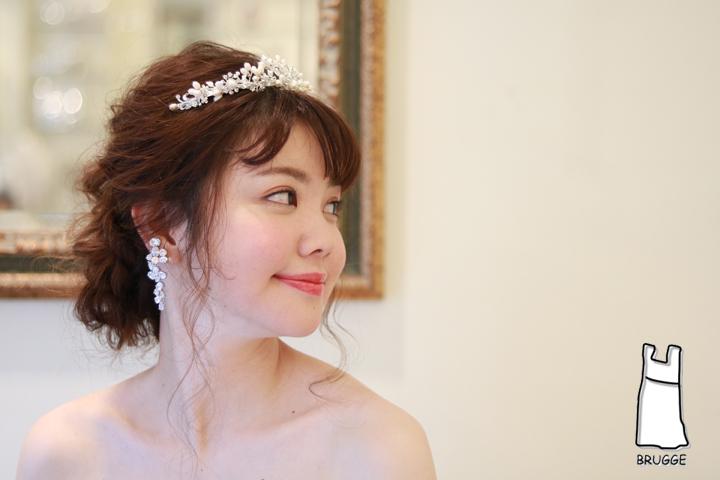 ブライダルパールティアラ ウエディング結婚式